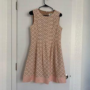 Eliza J Light Pink Lace Dress